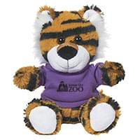 "6"" Plush Terrific Tigers"