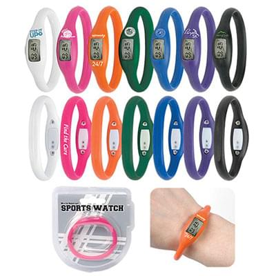 Water Resistant Silicone Sports Watches