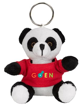 Mini Plush Panda Key Chains