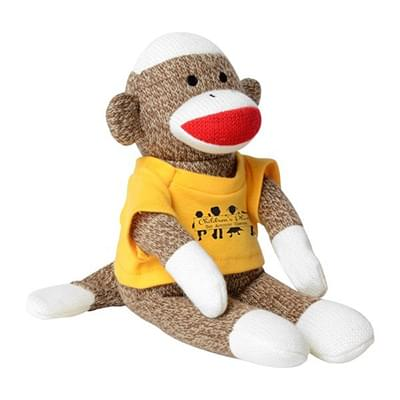 Sock Monkey Stuffed Animals Printglobe