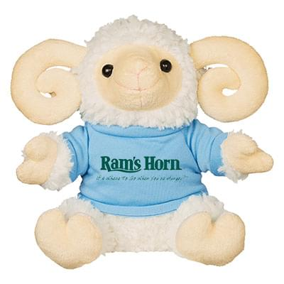 "6"" Plush Rowdy Rams"