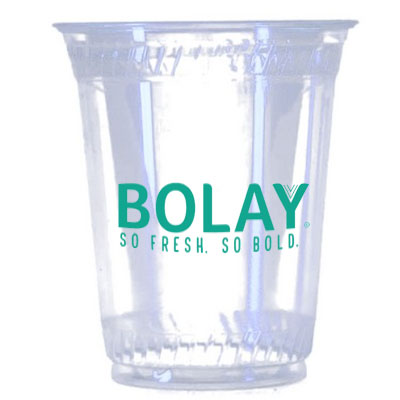 12 oz. Biodegradable Plastic Cups, High Quantity