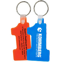 Number One Soft Keytags - Budget