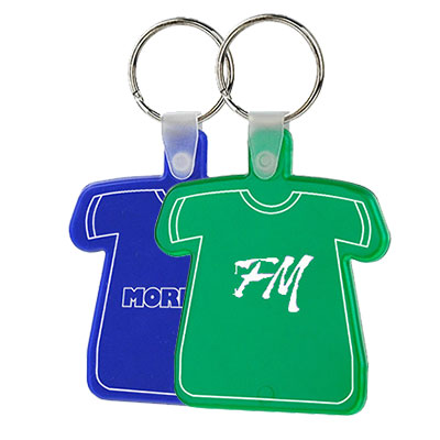 T-Shirt Shape Soft Keytags - Budget