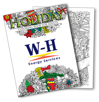 Holiday Coloring Books for Adults