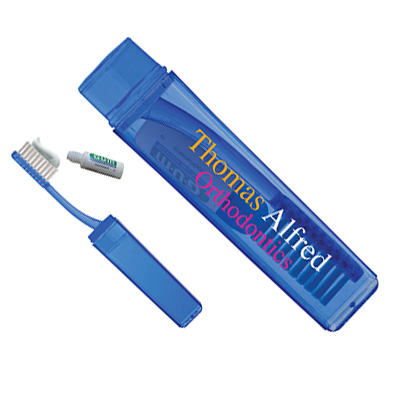 Travel Toothbrushes with Toothpaste