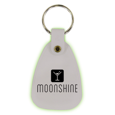 Glow in the Dark Key Tags
