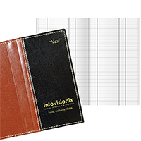 Legacy Delta Monthly Tally Books - Faux Leather