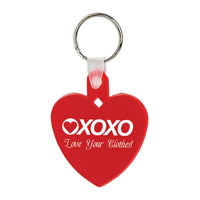 Heart Shape Soft Key Tags - Budget
