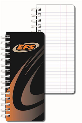 Full Color Pipe Tally Books - Spiral Bound