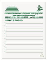 "4.12"" x 5.37"" Recycled Notepads - 100 Sheets"