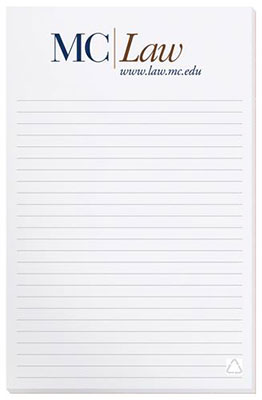 "5.37"" x 8.37"" Recycled Notepads - 100"