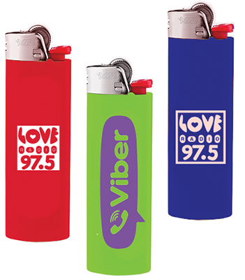 Bic Lighters – Printed Both Sides