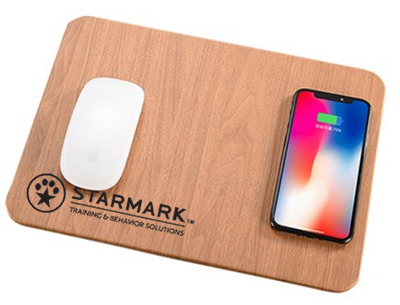 Wood Look Qi Wireless Chargers & Mouse Pad