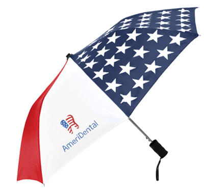 "Patriot Folding Umbrellas - 42"" Arc"
