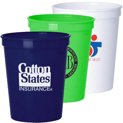 16 oz. Smooth Stadium Cups