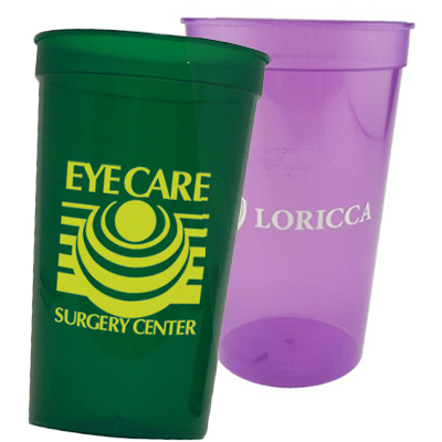 22 oz. Smooth Translucent Stadium Cups