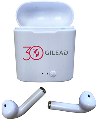 Wireless Bluetooth Earbuds w/ Charging Case