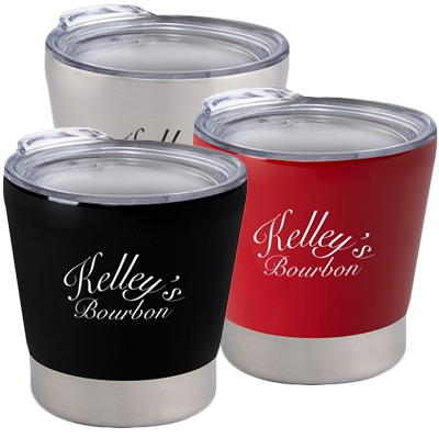 8 oz. Toddy Stainless Steel Tumblers