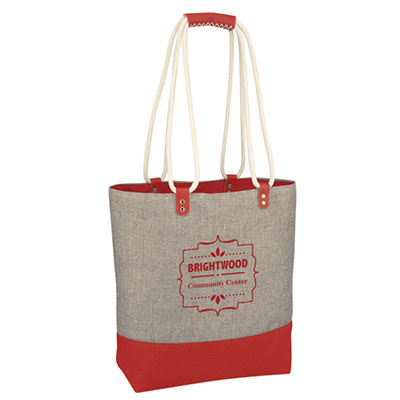 Scottsdale Heathered Tote Bags