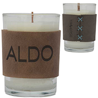 Harper Leather Wrapped Scented Candles