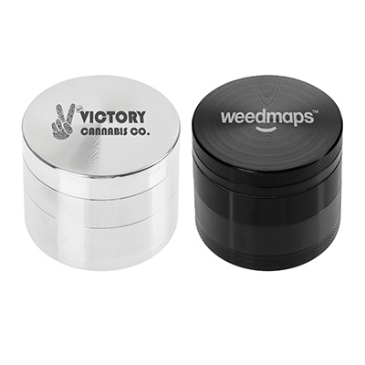 Zinc Tobacco Herb and Spice Grinders