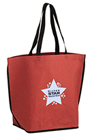 20 x 16 Contoured Washable Kraft Paper Tote Bags