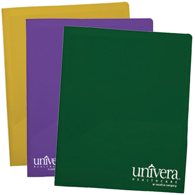 Twin Pocket Presentation Folders - Satin Finish