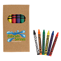 6 Piece Crayon Sets