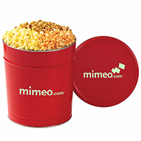 3 Way Popcorn Tins - Medium