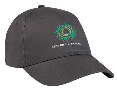 100% Cotton Twill Price Buster Caps - Embroidered