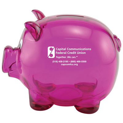 Mr. Piggy Coin Banks