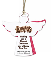 Two-Part Angel Ornaments with Vellum & Seed Paper