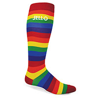 Rainbow Cotton Knee High Socks