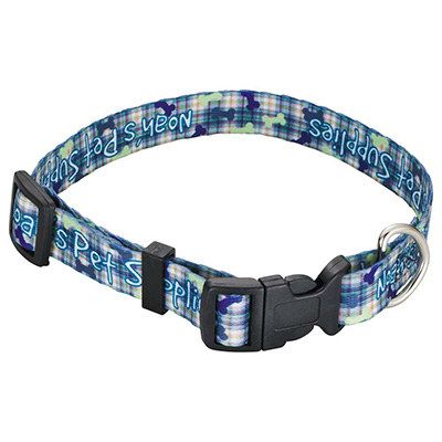 "Full Color 3/4"" Wide Pet Collars"