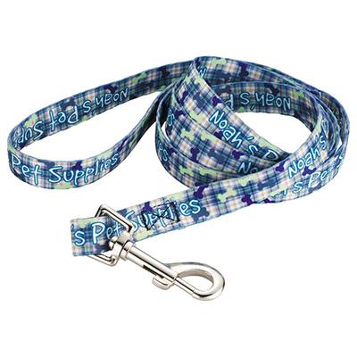"Full Color 3/4"" Wide Premium Pet Leashes"