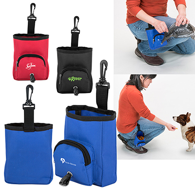 2-in-1 Treat Bag/Poop Bag Dispensers