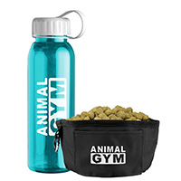 24 oz. Tritan Bottle & Folding Dog Bowls