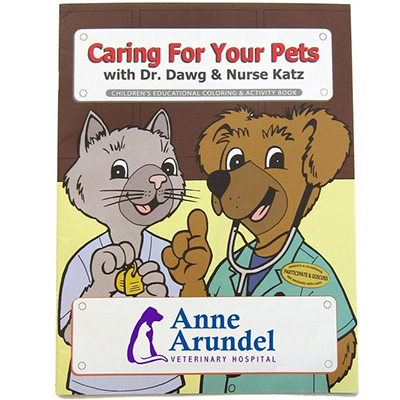 """Caring For Your Pets"" Coloring Books"