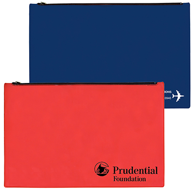 "Legal Size Portfolio with Zipper Closure - 17"" x 11.75"""