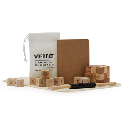 Word Dice Game Sets