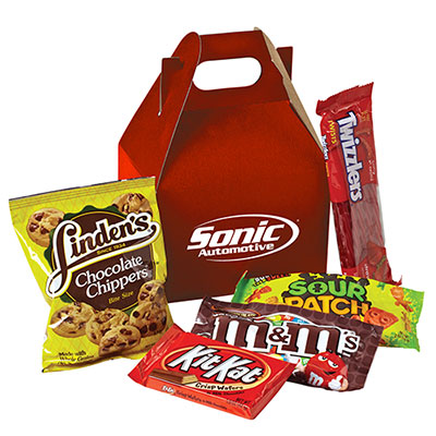 Filled Snack Boxes - Candy Mix