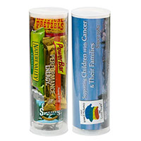 H2O and Snacks Survival Tubes - Small