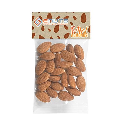 Healthy Header Bags - Raw Almonds - 1 oz.