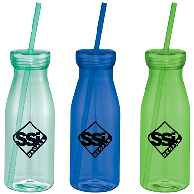 18 oz. Yolo Bottle Tumblers with Straw