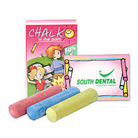 3 Piece Jumbo Sidewalk Chalk Sets