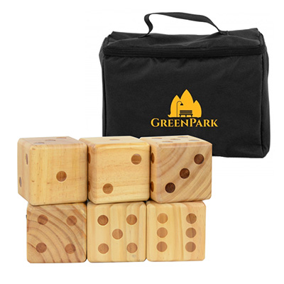 Oversize Wooden Yard Dice Game Sets