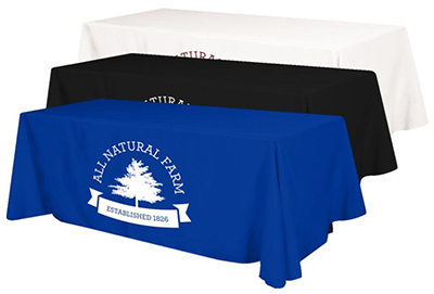 Budget Poly Table Covers - 4 Sided - 8'