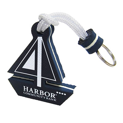 Floating Sailboat Keytags