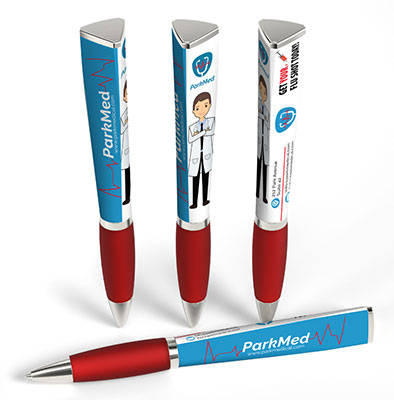 Full-Color 3-Sided Ad Pens